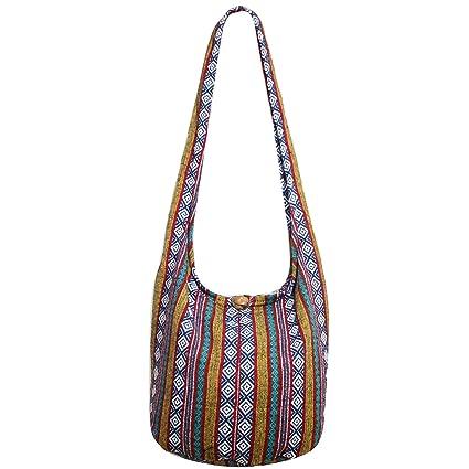 88a4eda07797 Tonka Hippie Hobo Boho Bags Crossbody Bohemian Messenger Bags Shoulder  Sling Purses (HB 40)