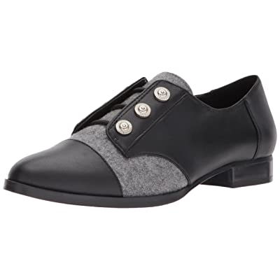 NINE WEST Women's Here Leather Uniform Dress Shoe: Shoes
