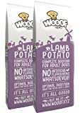 Wooof mit Lamm und Kartoffeln 28kg kaltgepresstes Hundefutter, 100% getreidefrei und glutenfrei, natürliche Zutaten, hoher Fleischanteil, leicht verdaulich, reich an Eiweiß, Trockenfutter