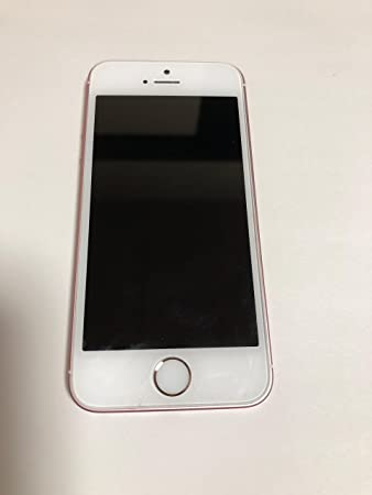 f6e2e6cf59 Amazon | Apple iPhone SE SIMフリー 4インチ 【64GB ローズゴールド ...