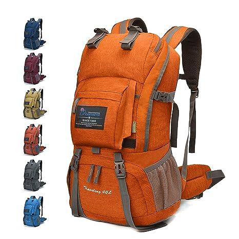 378d97ffab MOUNTAINTOP 40 Litri Zaino Unisex/Zainetto da Trekking Outdoor/Zaino da  Campeggio/Multifunzione