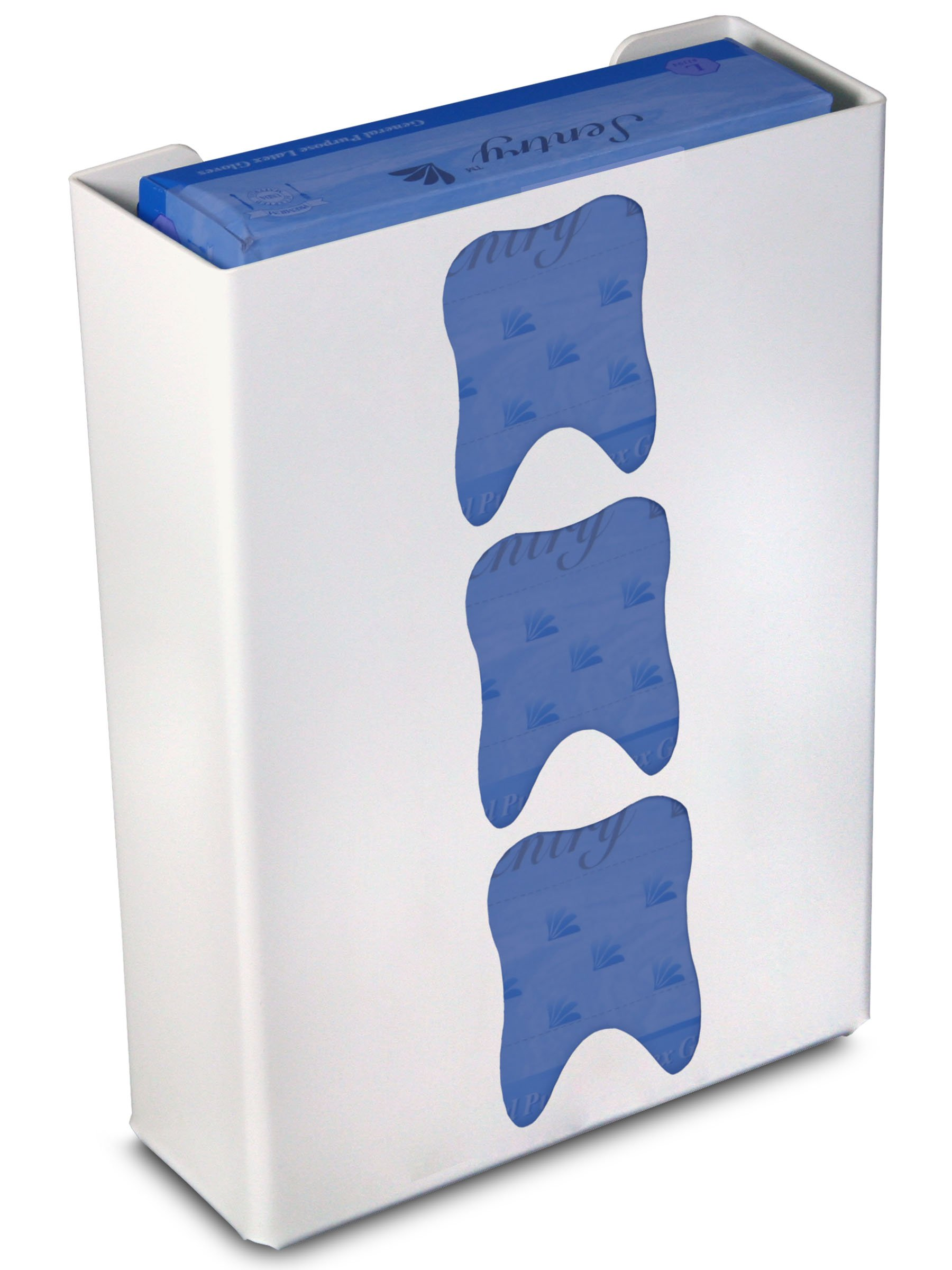 TrippNT 51055 Priced Right Triple Glove Box Holder with Tooth, 11'' Width x 15'' Height x 4'' Depth by TrippNT (Image #1)