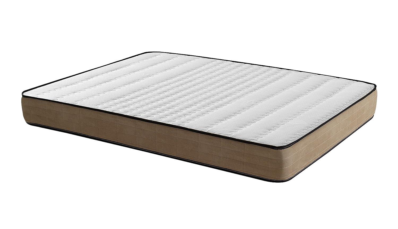 Royal Beds Maxrest Colchón, Tela, Marrón, Matrimonial, 190x120x10 cm: Amazon.es: Hogar