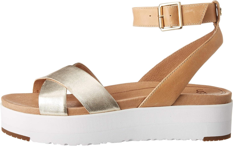 UGG Women's Tipton Metallic Flat Sandal