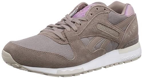 Reebok GL 6000 Transform, Zapatillas de Running para Mujer, Marrón/Blanco (Sandy Taupe/White), 35 1/2 EU: Amazon.es: Zapatos y complementos