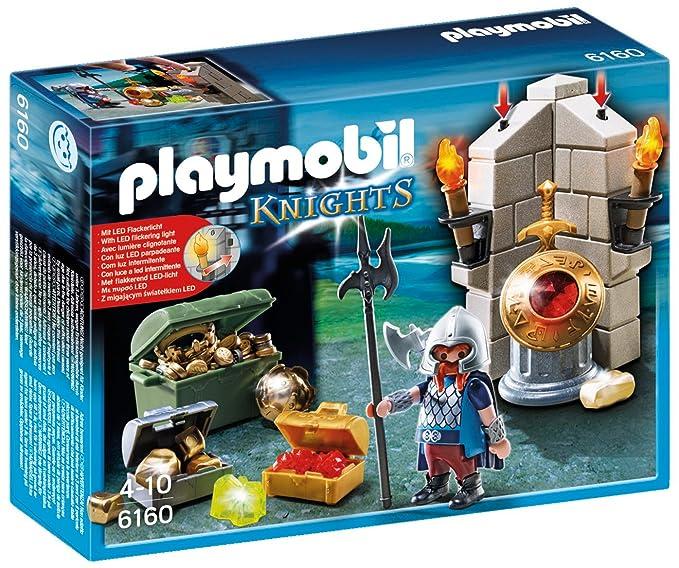 Playmobil Caballeros - Guardián del Tesoro del Rey, playset (6160): Amazon.es: Juguetes y juegos