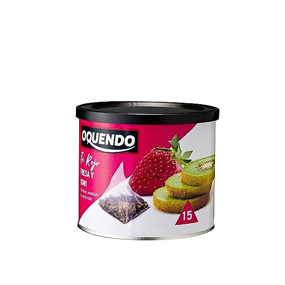 Oquendo, Infusión de hierba (Té rojo fresas y kiwi) - 3 de 30