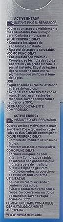 NIVEA MEN Active Energy Instant Fix Gel Reparador - 50 ml: Amazon.es: Belleza