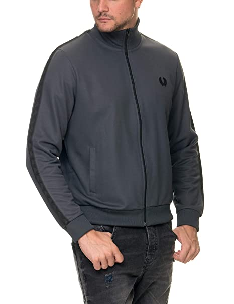 Fred Perry Tonal Taped Track Jacket