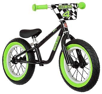 982ffd36542 Amazon.com : Schwinn Skip 4 Balance Bike, 12-Inch Wheels, Black/Green :  Industrial & Scientific