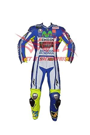 Valentino Rossi Moto Motocicleta Racing Traje de Piel ...