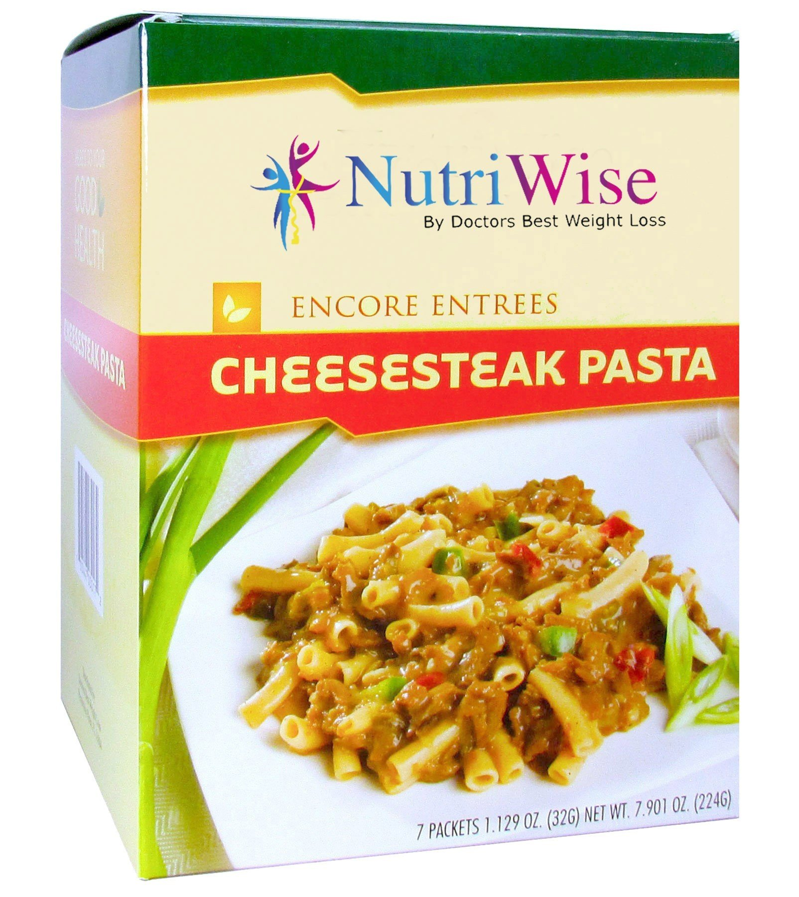 Nutriwise - Cheesesteak Pasta Diet Entree (7/Box) by NutriWise - By Doctors Best Weight Loss
