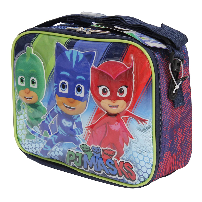 PJ máscaras Gekko Catboy Owlette suave bolsa de almuerzo Kit caja: Amazon.es: Hogar