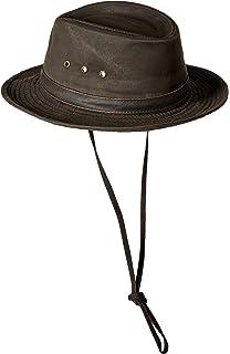 91bdd1fbf214a Filson Tin Cloth Packer Hat 60015 at Amazon Men's Clothing store