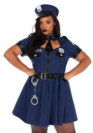 57e4693e48 Leg Avenue Women's Plus Size Sexy Police Officer Costume