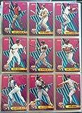 1992 Score P& Gamble MLB All-Star Baseball Card Set (CT-18) - Includes Cal Ripken, Ken Griffey Jr & More