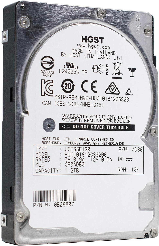 HGST Ultrastar C10K1800 HUC101812CSS200 1.20 TB 2.5 Internal Hard Drive