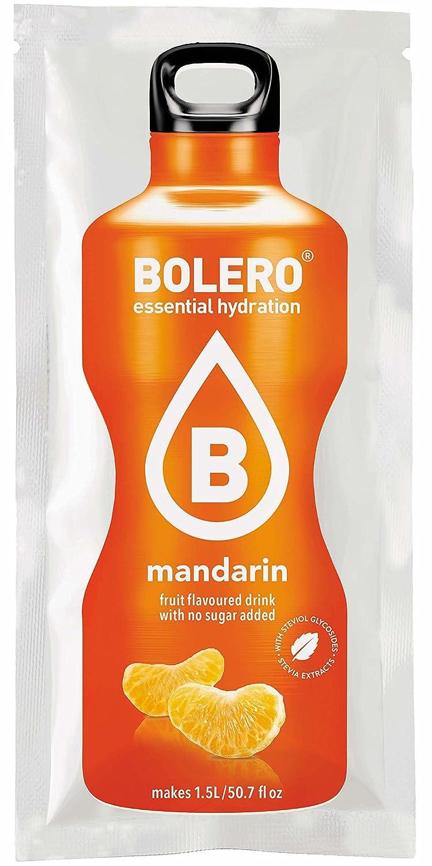 Bolero Classic Mandarin - Paquete de 12 x 9 gr - Total: 108 gr: Amazon.es: Salud y cuidado personal