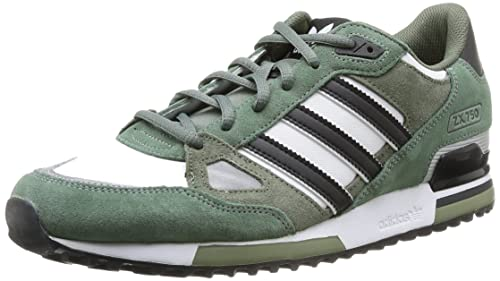 the latest eea97 24e7f adidas Zapatillas ZX 750 Blanco Negro Verde EU 41 1 3  Amazon.es  Zapatos y  complementos