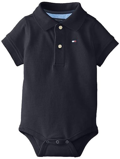 8f80474b7 Amazon.com: Tommy Hilfiger Boys' Short Sleeve Ivy Bodysuit: Clothing