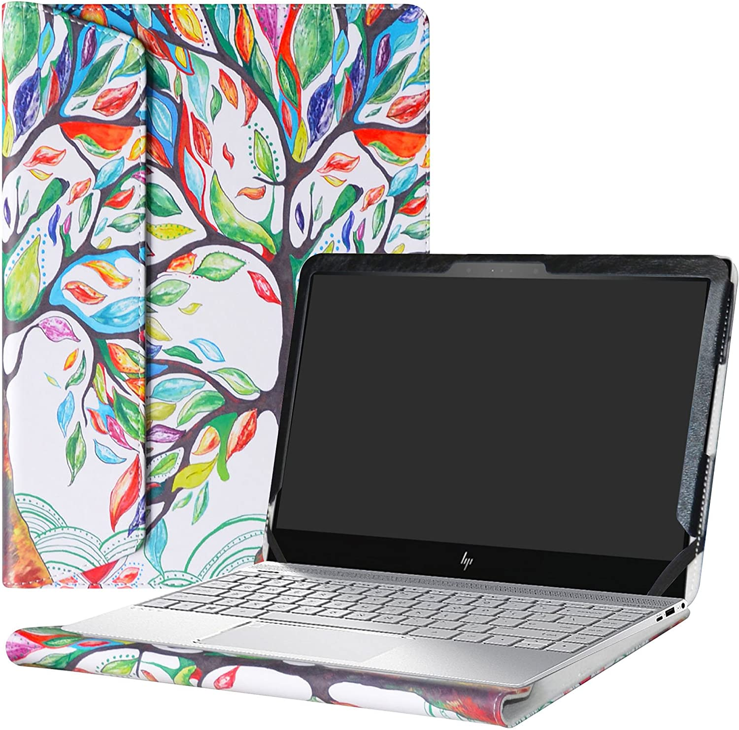"""Alapmk Protective Case Cover for 13.3"""" HP Envy 13 13-adXXX Series (13-ad000 to 13-ad999,Such as 13-ad120nr 13-ad173cl,Only fit 13-adXXX Series,Not fit 13-ahXXX/13-abXXX) Laptop,Love Tree"""