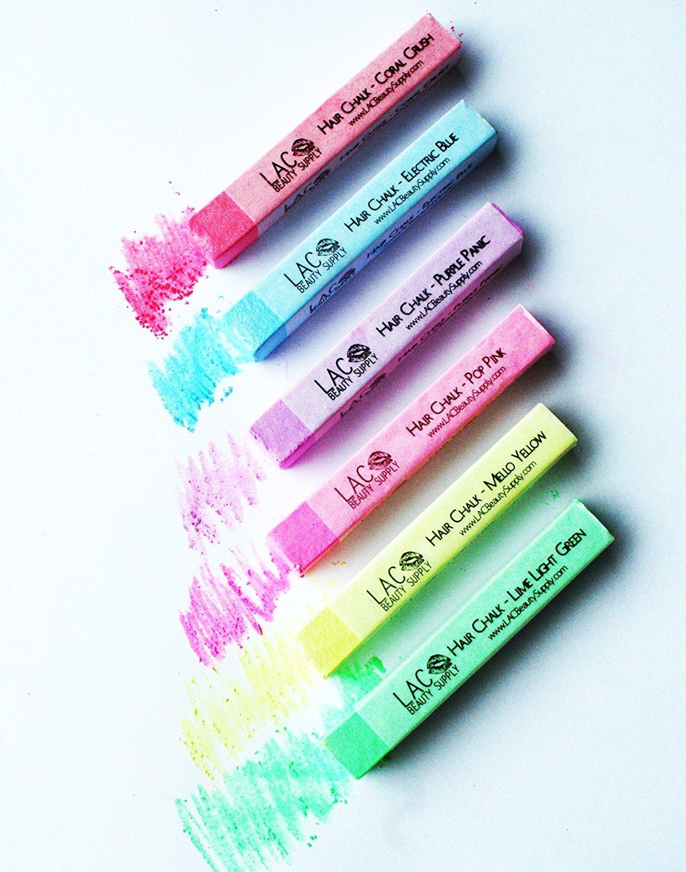 GypsyStix Neon Shimmer Colors 6 Hair Color Chalk KC Republic