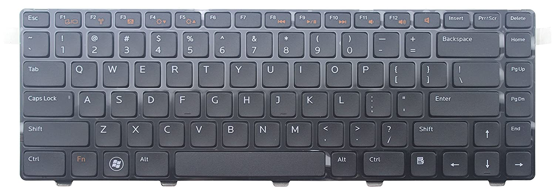 WishingDeals US Layout Ersatz Tastatur für Dell Inspiron 15R 5520; SE 7520