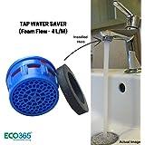 Eco365 Water Saving Aerator - 4LPM Foam Flow Tap Filter