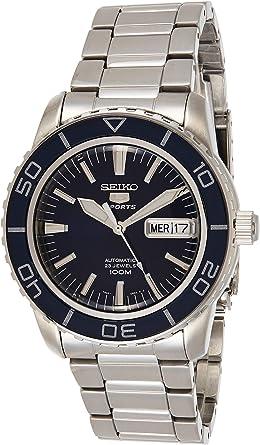 Seiko Reloj Analógico Automático para Hombre con Correa de Acero Inoxidable – SNZH53K1: Seiko: Amazon.es: Relojes