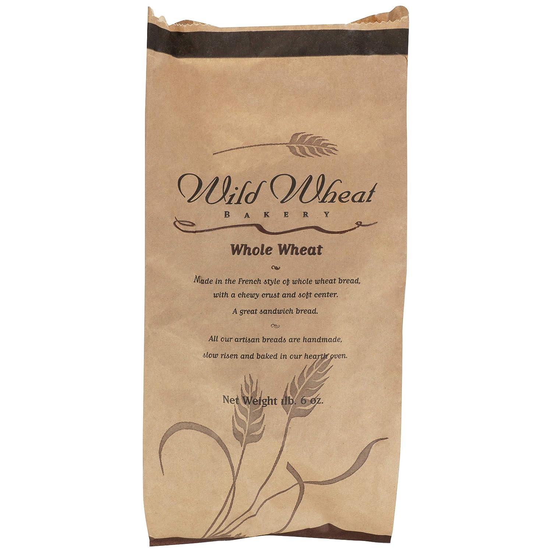 Wild Wheat Bakery, Bread Whole Wheat, 10 Ounce