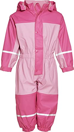 e0a185d8f Playshoes Fleece Unisex Baby All-in-One Rain Coat  Amazon.co.uk ...