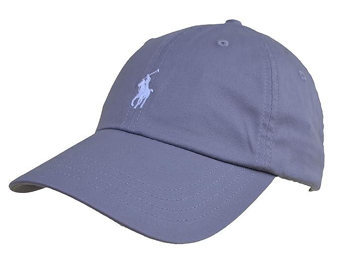 Ralph Lauren - Gorra de béisbol - para Hombre Gris Hellgrau/Basic Grey Talla única: Amazon.es: Ropa y accesorios