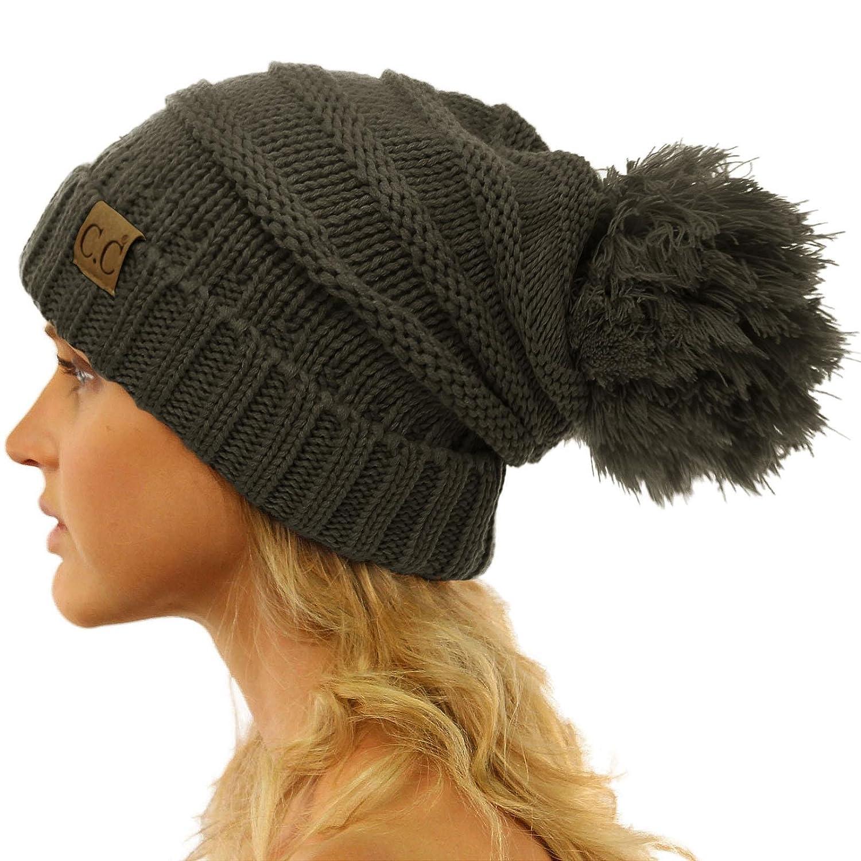 SK Hat shop HAT レディース B074T2H9ML Solid Melange Gray Solid Melange Gray