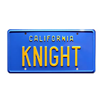 Celebrity Machines Knight Rider | Knight | Metal Stamped License Plate: Home & Kitchen