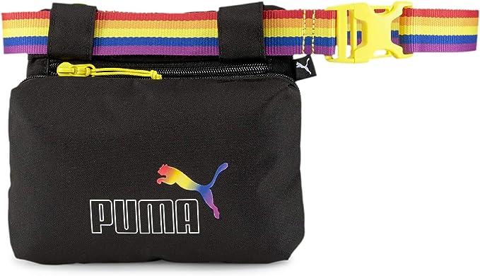 Puma Unisex Bolsa de Cinturón - Pride Riñonera, Logo, Arco Iris, Aprox. 18x21, 5x3cm (Alxanxp) - Negro: Amazon.es: Equipaje