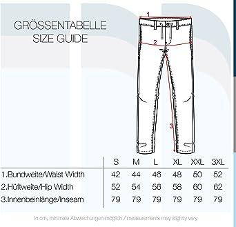 Pantalon lin pantalon long pantalon tissu confortable en lin m/élang/é de haute qualit/é Indicode Ives