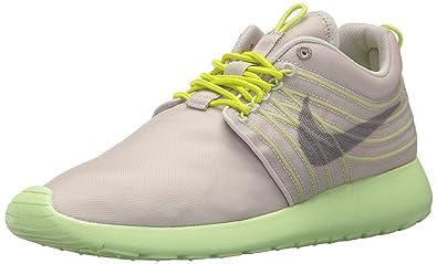 d1b27f6ad6da Nike Mens Rosherun Dyn Fw Qs Gamma Grey Light Charcoal Cyber 580579-037 13