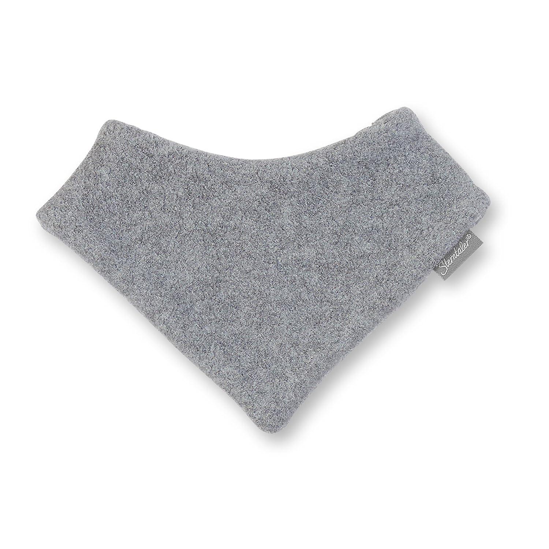 Sterntaler Unisex Baby Halstuch Dreieckstuch Grau 1 (Herstellergröße: 1) 4101400