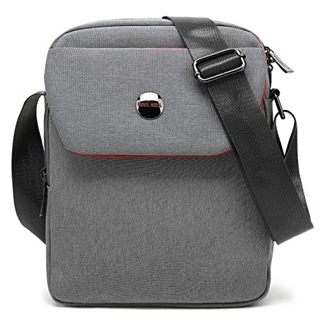691f303993af CoolBELL 10.6 inches Shoulder Bag Fabric Messenger Bag iPad Carrying case  Hand Bag Tablet Briefcase Waterproof. Roll over image to zoom in