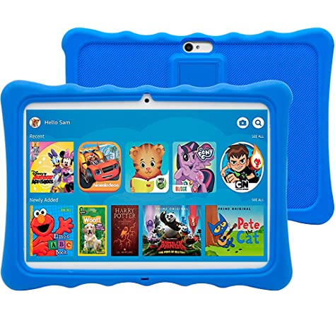 تابلت كيه 11 ثنائي شرائح الاتصال للاطفال من وينتتش، قياس 10.1 بوصة، شاشة اي  بي اس ال سي دي، رام 1 جيجا، روم 16 جيجا، زهري: Amazon.ae