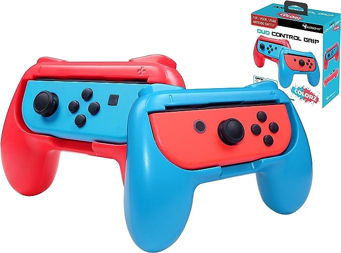 Subsonic - Pack de 2 Grips para Joy-Con, Color Rojo y Azul ...