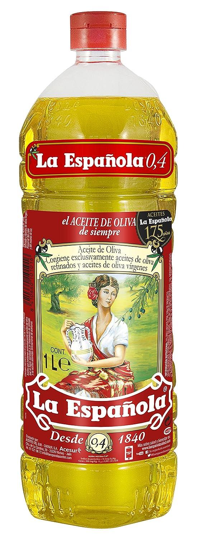 La Española - Aceite de Oliva Suave - 1 l: Amazon.es: Alimentación y bebidas