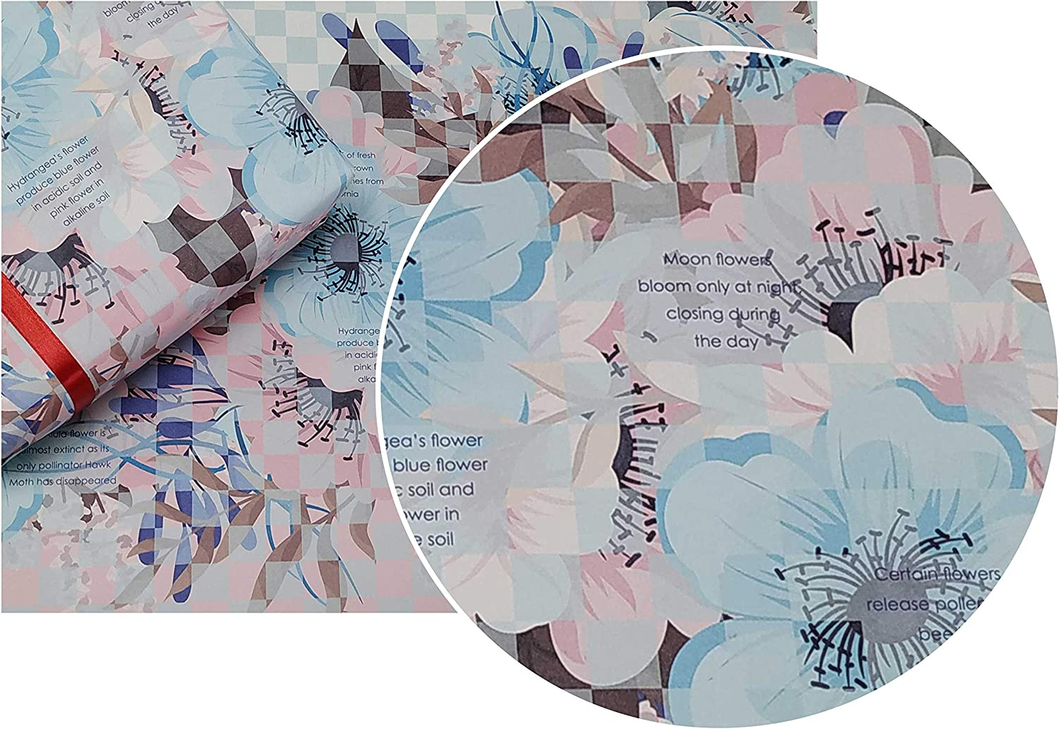 eVincE 10 floral gift Wrapping paper   28
