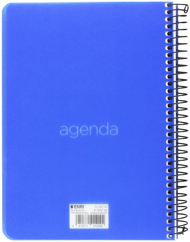 Enri 400071482 - Agenda: Amazon.es: Oficina y papelería
