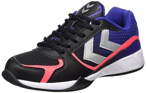 Hummel Aerospeed Chaussures de Fitness Mixte Adulte, Noir (Black/Blue), 48 EU