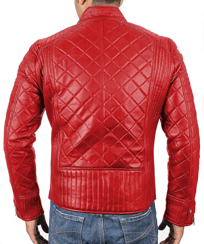 1501615 Laverapelle Mens Genuine Lambskin Leather Jacket Black, Fencing Jacket