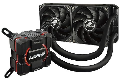 LEPA AquaChanger 240mm Intel/AMD High Performance Liquid CPU Cooler, LPWAC240-HF