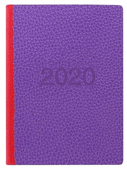 Letts 2020 - Agenda de vista semanal (tamaño A6, dos tonos ...