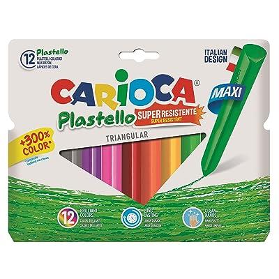Carioca - Bote con 12 plasticera (A36190012): Juguetes y juegos