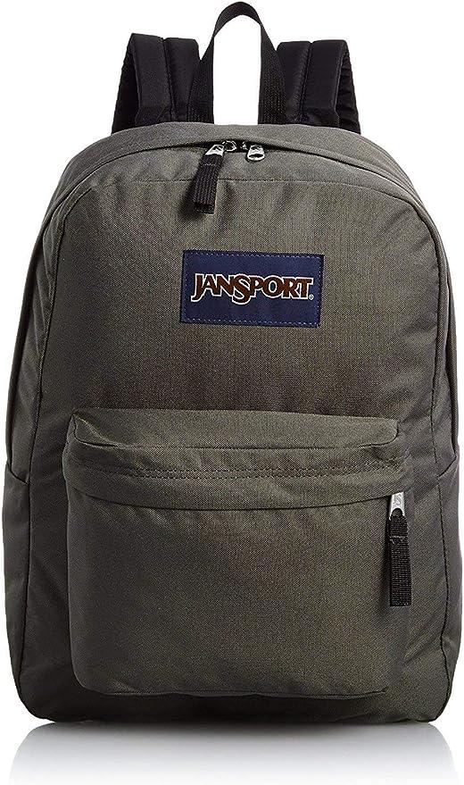 New JanSport SuperBreak Backpack Deep Grey